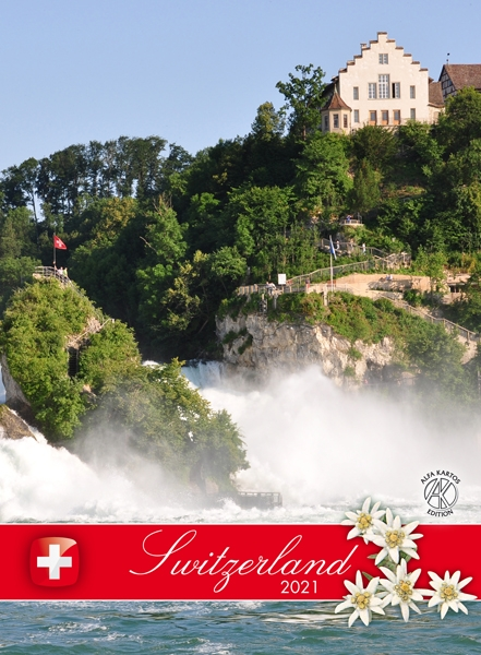 Swiss Desk Calendar 2021