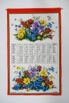 Alpine Flowers Screen Print Calendar 2021
