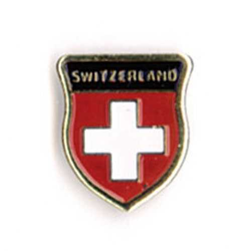 Swiss Shield Pin