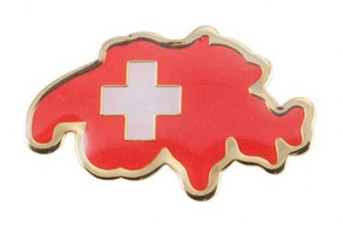 Switzerland Map Pin
