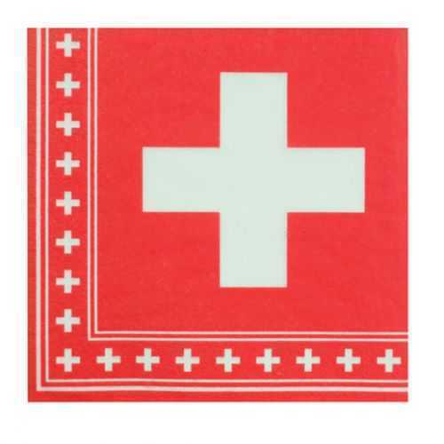 Paper Napkins - Swiss National