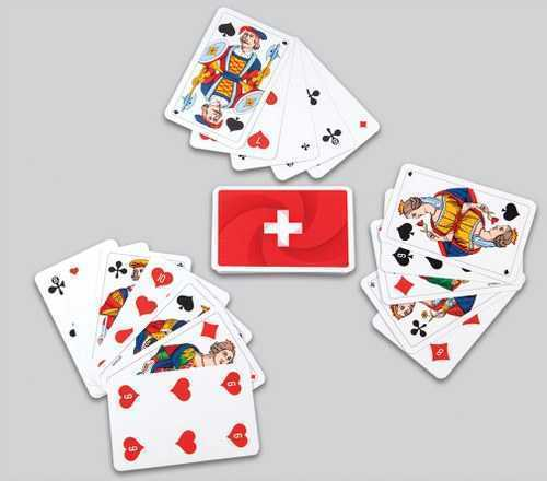 Jass Card Game Playing Cards