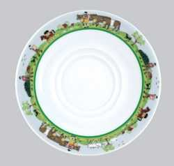 Alpage Pattern - Regular Saucer