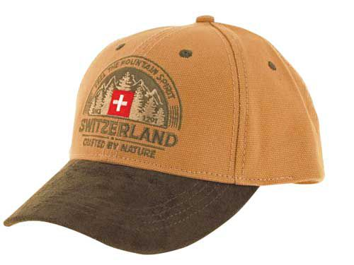 Baseball Cap with Swiss Scenes