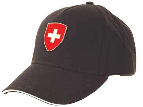 Baseball Cap with Swiss Flag