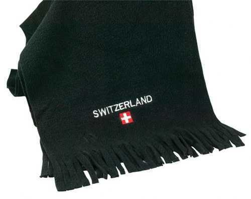 Scarf - Black  Fleece