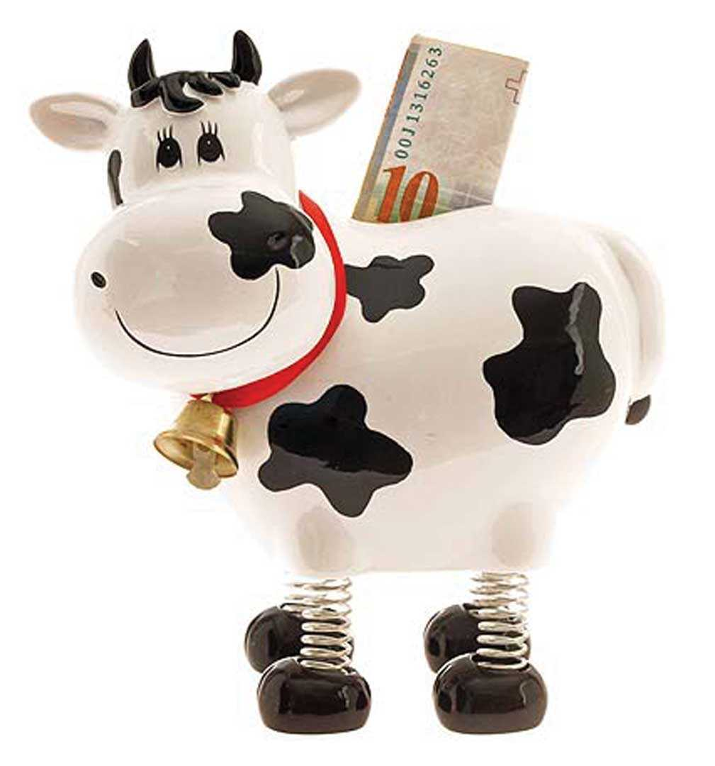Springy - The Swiss Holstein Cow Bank