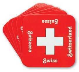 Swiss Coaster Set