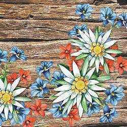 Alpine Flowers Napkins