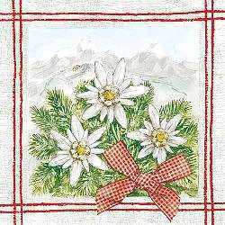 Edelweiss/Mountains Napkins