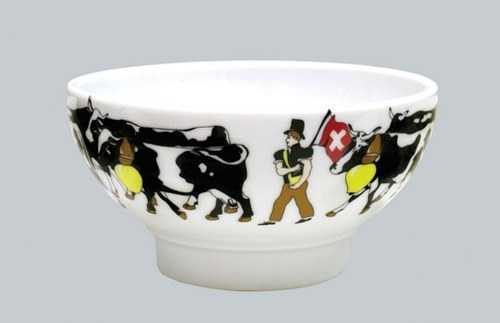 Alp Pattern -Soup/Cereal Bowl