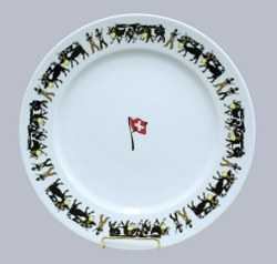 Alp Pattern - Lunch/Dinner Plate