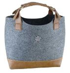 Mixed Felt Fabric Shopping Bag