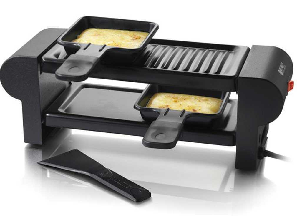 raclette grill mini for two shop swiss. Black Bedroom Furniture Sets. Home Design Ideas