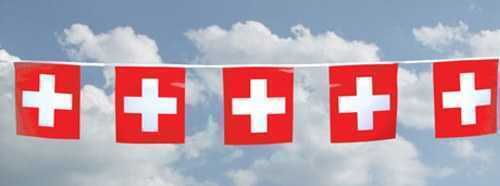 Swiss National Flag Banner