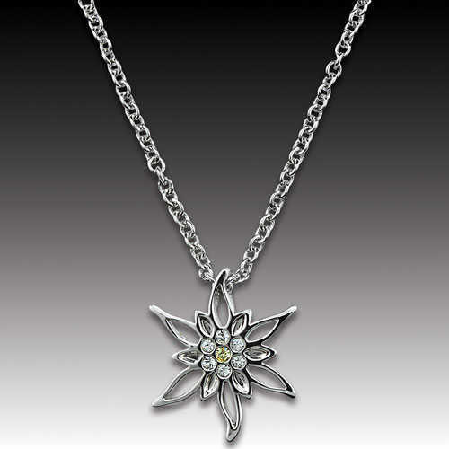 Edelweiss Necklace with Simone Pendant
