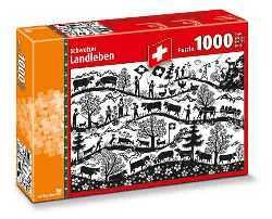 Swiss Paper Cut Puzzle