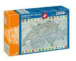 Map of Switzerland Puzzle