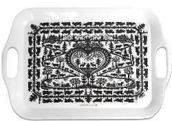 Scherenschnitt Design Serving Tray