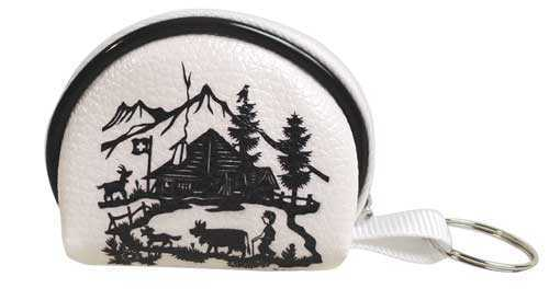 Scherenschnitt Coin Purse