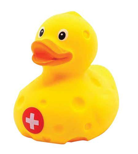 Cheese Duck Bath Toy