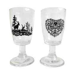Scherenschnitte Coffee Glass