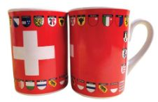 Swiss Cross and Cantons Mug