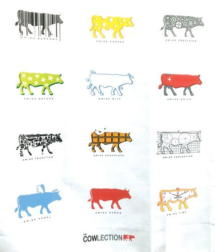 The Cow Cowlection Kitchen Towel