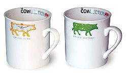 Cows Espresso Cups,  2-cup Set