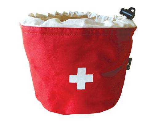 Potato Bag - Red with Swiss Cross