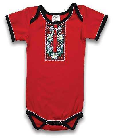 Swiss Milking Shirt Onesie
