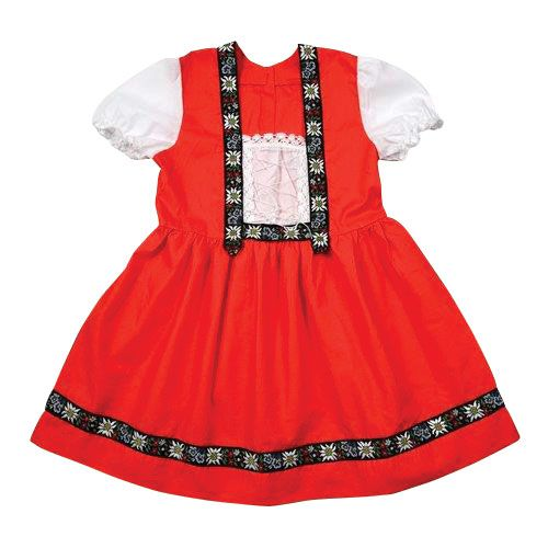 Young Girls Folk Dress