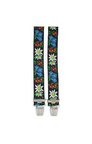 Suspenders - Alpine Flowers