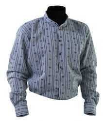 Swiss Traditional Edelweiss Shirt - Anthracite