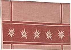 Edelweiss Kitchen Towel - bordeaux