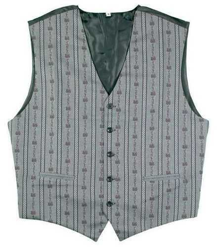 Edelweiss Vest - Anthracite - Swiss Folk Wear