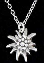 Edelweiss Pendant Necklace