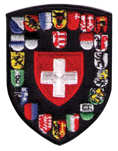 Canton Shields Embroidered Patch