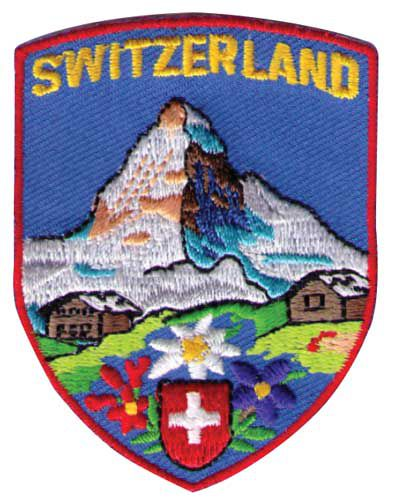 Matterhorn Embriodered Patch