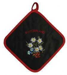 Alpine Flower Pot Holder- Black