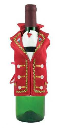 Appenzell Wine Bottle Vest red