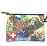 Small Swiss Francs Coin Purse
