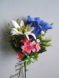 Small Arificial Alpine Flower Bouquet