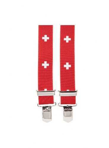 Suspenders - Swiss Cross