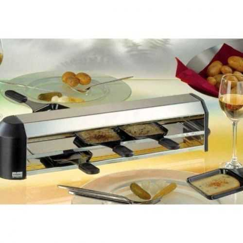 Stöckli 4 Person Raclette Cheese Melting Unit