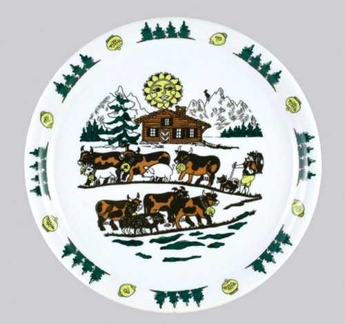 Lioba Pattern - Large Dinner Plate