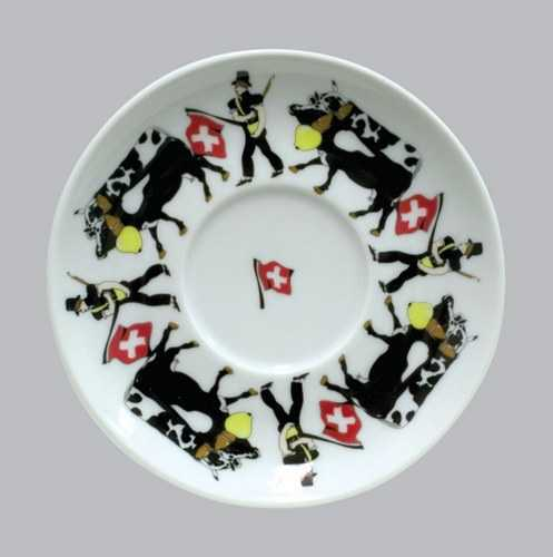Alp Pattern - Regular Saucer