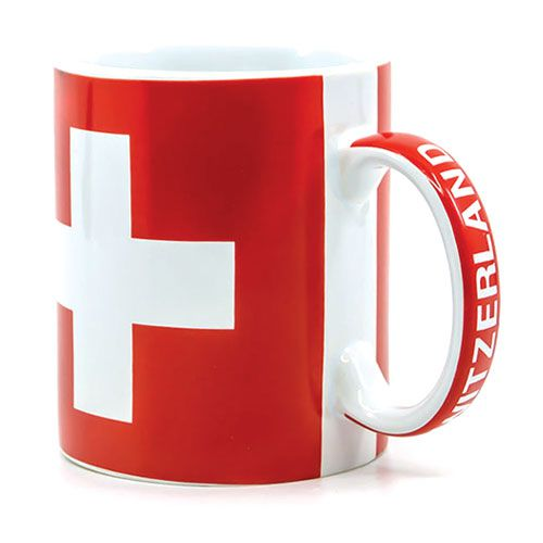 Swiss Cross-Switzerland  Mug