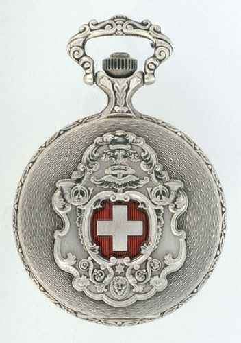 Swiss Pocket watch - Swiss Cross