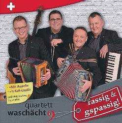Swiss Accordion Music by Quartett Waschacht